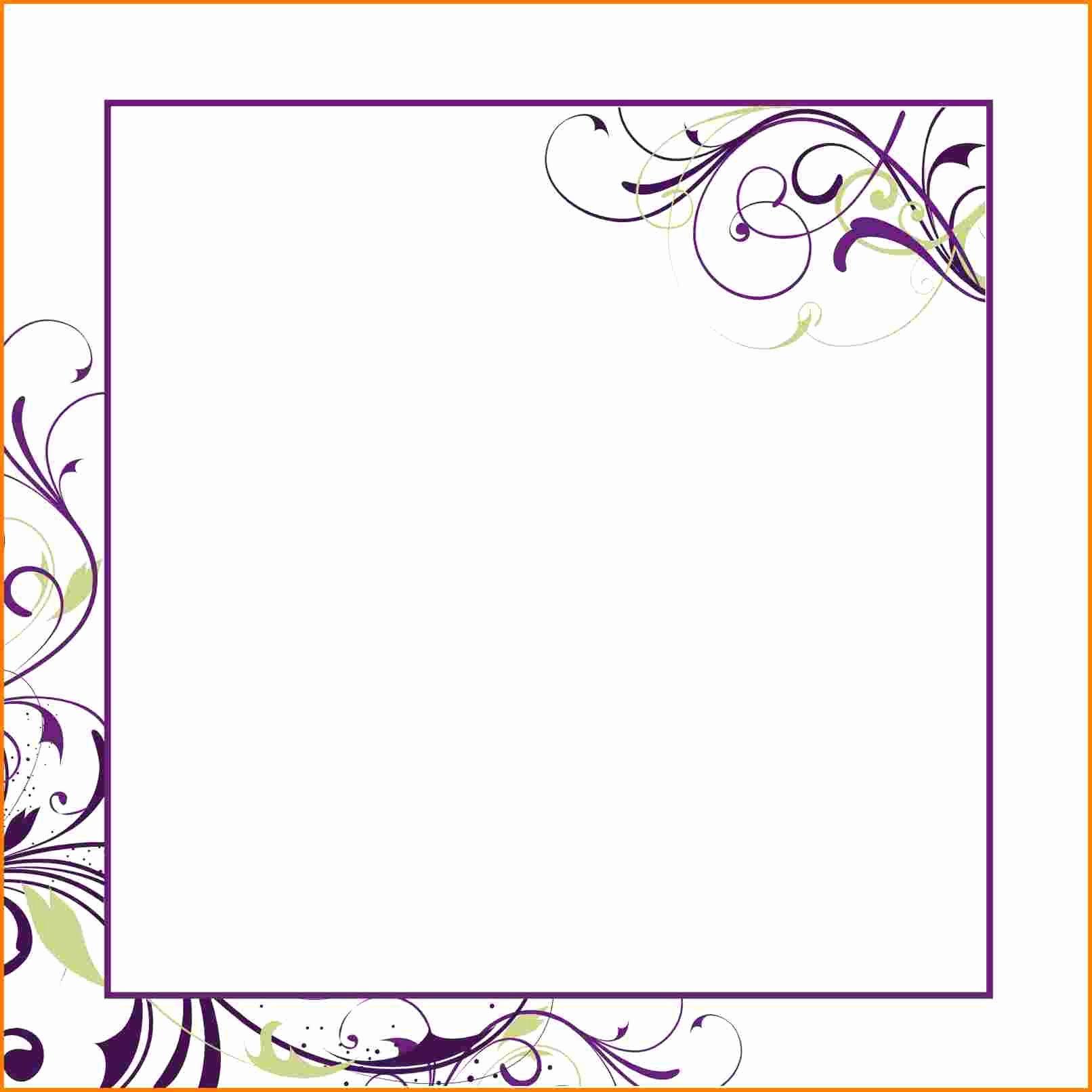 Microsoft Word Wedding Invitation Template Fresh Blank Invitation Template for Word – orderecigsjuicefo