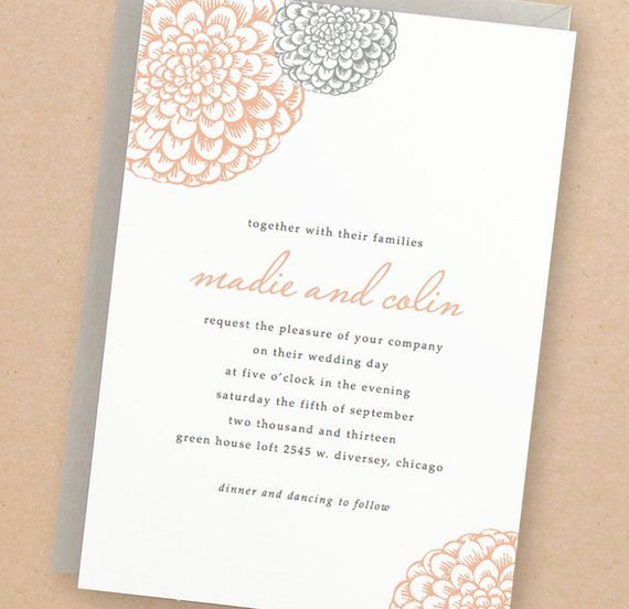 Microsoft Word Wedding Invitation Template Fresh Printable Wedding Invitation Template Instant Download