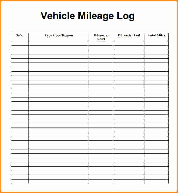Mileage Log Template for Taxes Best Of Free Mileage Spreadsheet for Taxes Samplebusinessresume