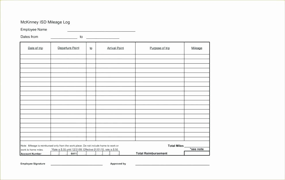 Mileage Log Template for Taxes Luxury Printable Mileage Log Templates Free Template Lab Book for