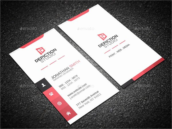 Minimalist Business Card Template Awesome 14 Minimalist Business Card Templates Illustrator