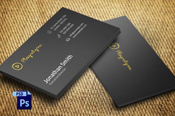 Minimalist Business Card Template Beautiful 20 Minimalist Business Card Templates