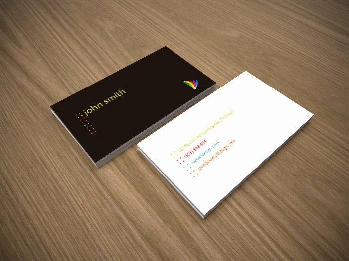 Minimalist Business Card Template Beautiful Free Minimal Business Card Template Crazyleaf Design Blog