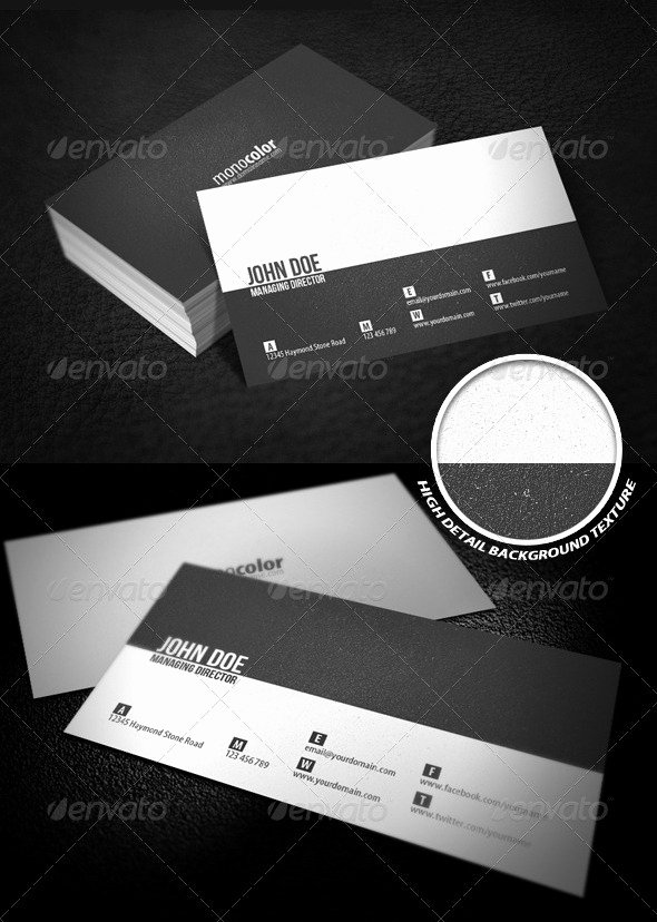 Minimalist Business Card Template Best Of 17 Ready to Print Minimalist Business Card Templates
