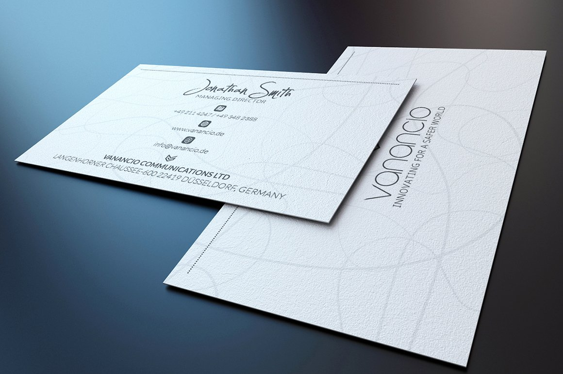 Minimalist Business Card Template Best Of Minimal Business Card Business Card Templates On