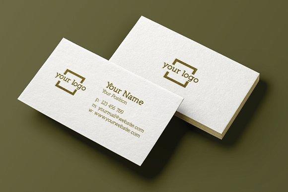 Minimalist Business Card Template Elegant Minimalist Business Card Template Business Card