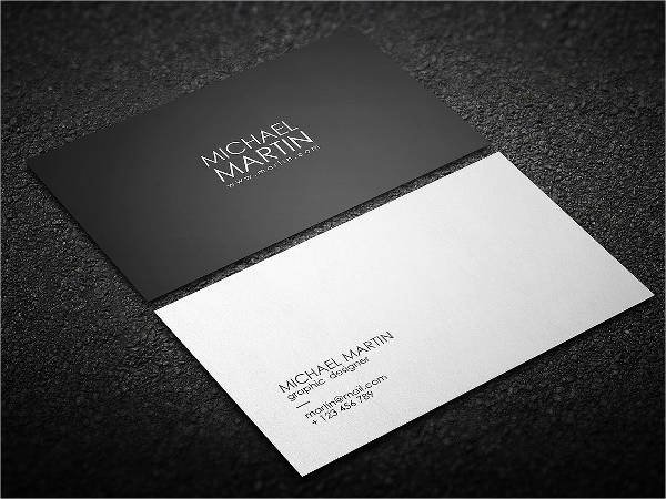 Minimalist Business Card Template Fresh 14 Minimalist Business Card Templates Illustrator