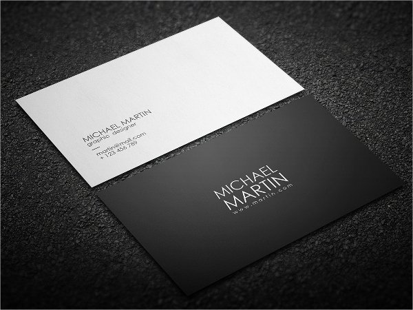 Minimalist Business Card Template Lovely 22 Modern Business Card Templates Free Download