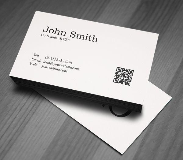 Minimalist Business Card Template Luxury Minimal Business Card Psd Template Businesscard Mockup