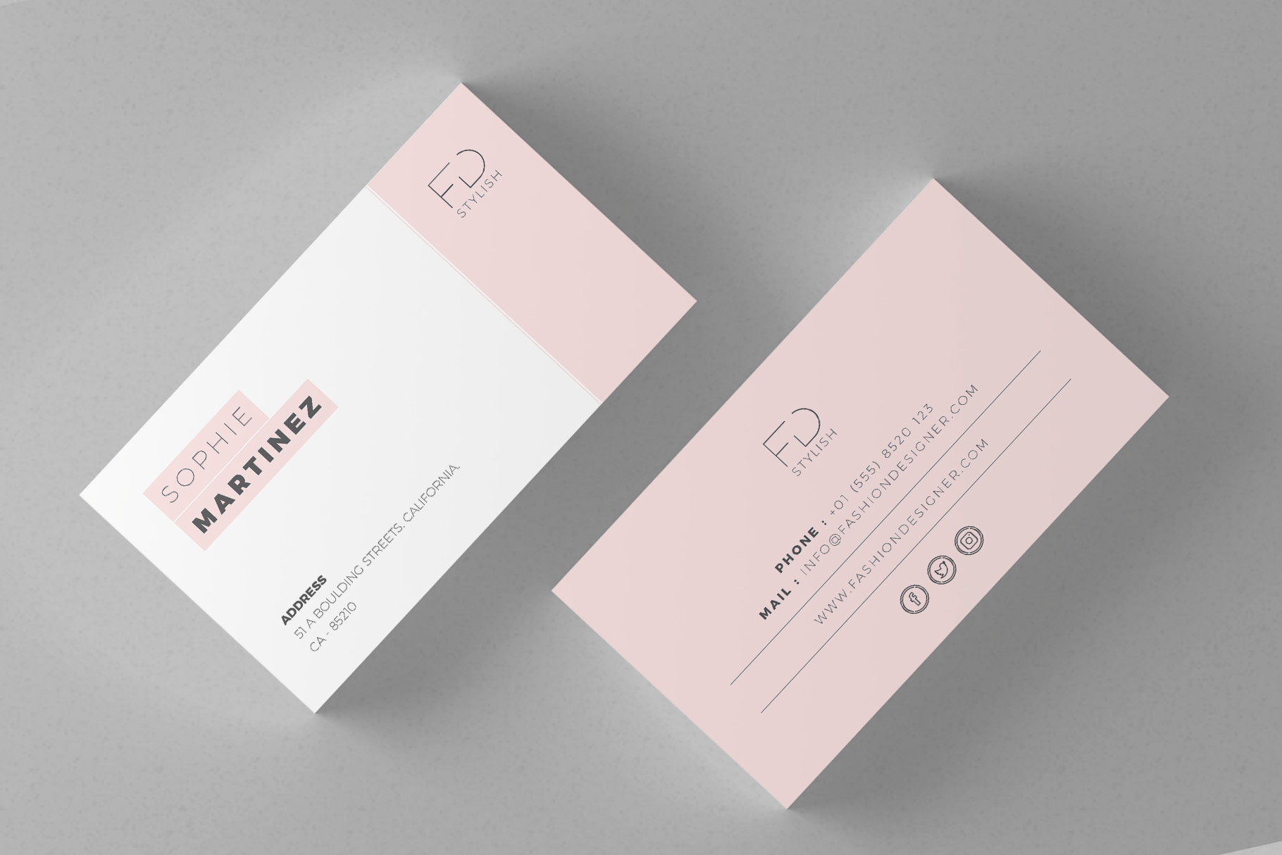 Minimalist Business Card Template Unique Minimalist Business Cards Graphic by Misteroneart