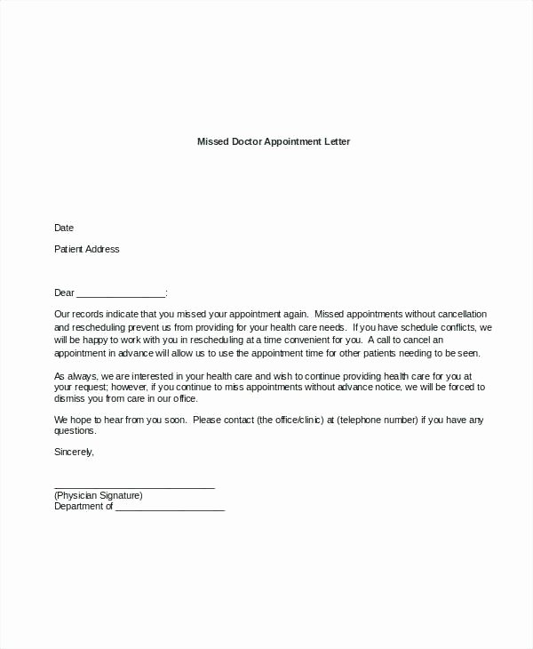 Missed Appointment Email Template Fresh Lien Release Letter Template – Azserverfo