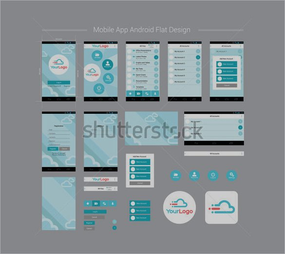 Mobile App Design Template Beautiful 40 Awesome Mobile App Designs with Great Ui Experience