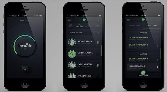 Mobile App Design Template Fresh 40 Awesome Mobile App Designs with Great Ui Experience
