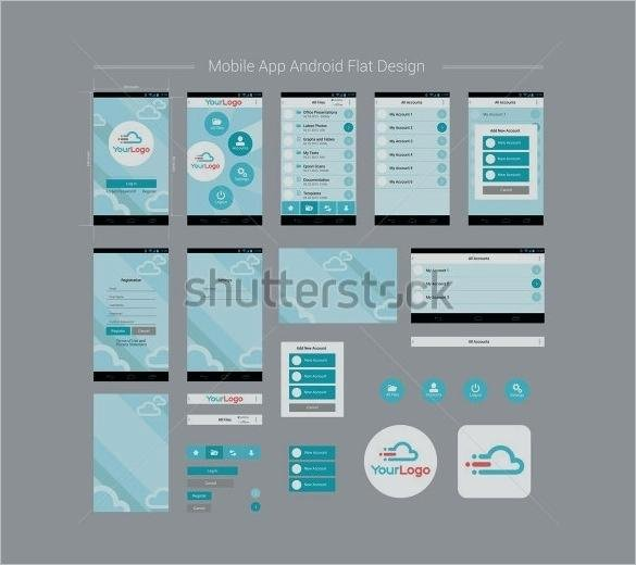 Mobile App Design Template Inspirational android Layout Template – Buildingcontractor
