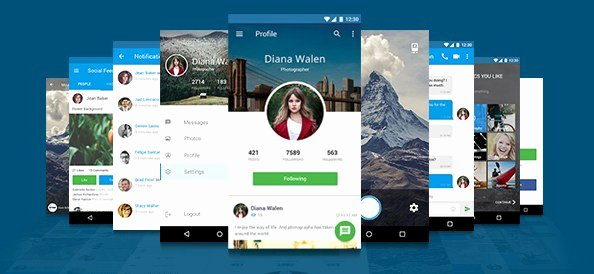Mobile App Design Template Inspirational Free Mobile Application Design Template Free Psd Files