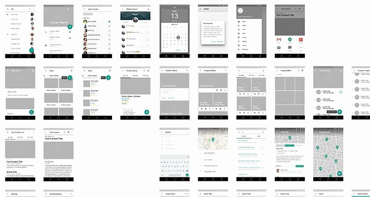 Mobile Apps Design Template Best Of 50 Free Wireframe Templates for Mobile Web and Ux Design