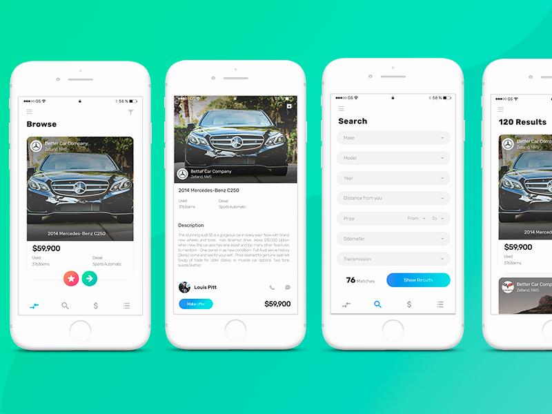 Mobile Apps Design Template Elegant 10 Latest Mobile App Interface Design Examples Templates