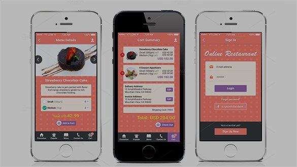 Mobile Apps Design Template Elegant 40 Awesome Mobile App Designs with Great Ui Experience