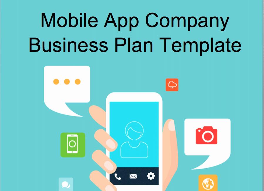 Mobile Apps Design Template New Mobile App Concept Business Plan Template Black Box