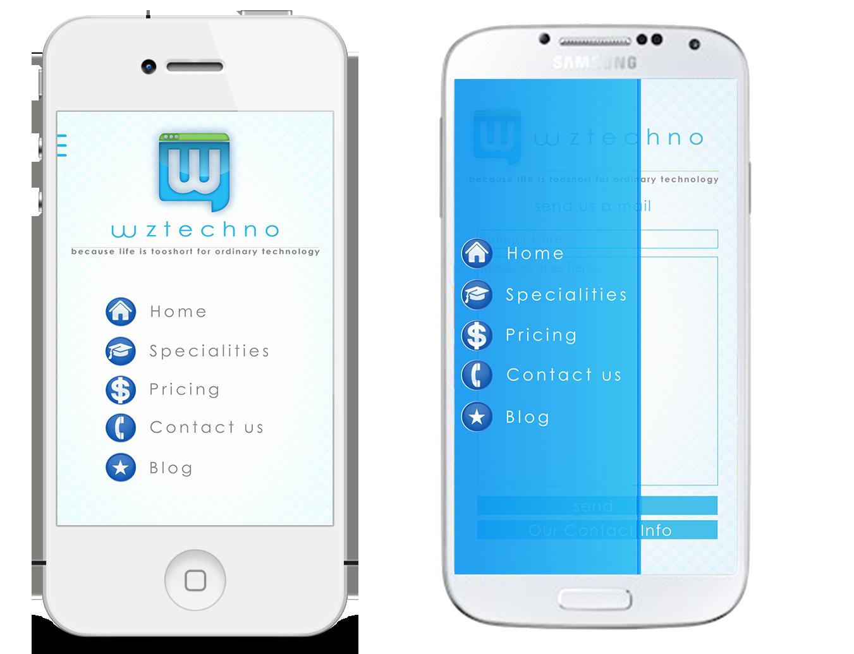 Mobile Apps Design Template New Wztechno Business Mobile android Ios Template by Wztechno