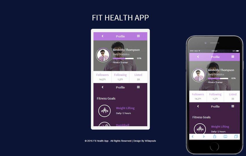 Mobile Apps Design Template Unique Mobile App Website Templates Designs Free