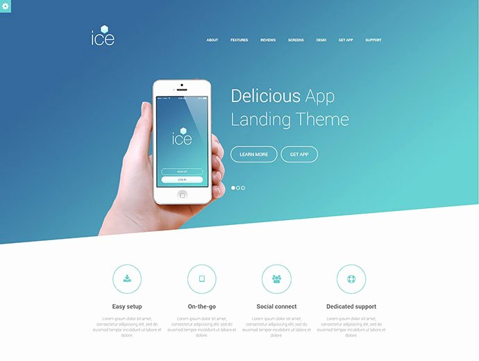 Mobile Landing Page Template Inspirational 20 Best HTML Mobile App Landing Page Templates