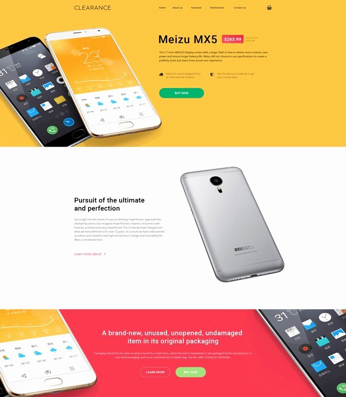 Mobile Landing Page Template Luxury 5 Premium Landing Page Templates for Ly $19 Inkydeals