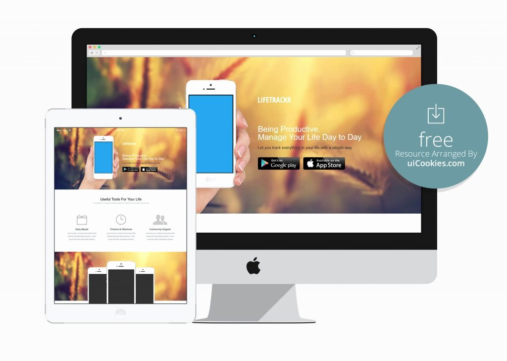 Mobile Landing Page Template Luxury top 100 Free HTML5 Responsive Bootstrap themes
