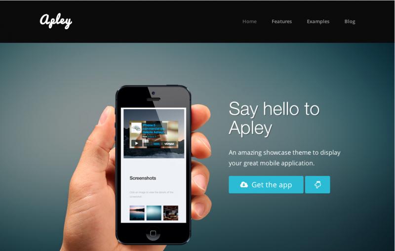 Mobile Landing Page Template Unique 35 Best Mobile App Landing Page Templates