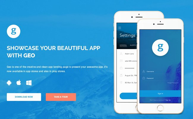 Mobile Landing Page Template Unique Grab This Month's May Free App Landing Page Template