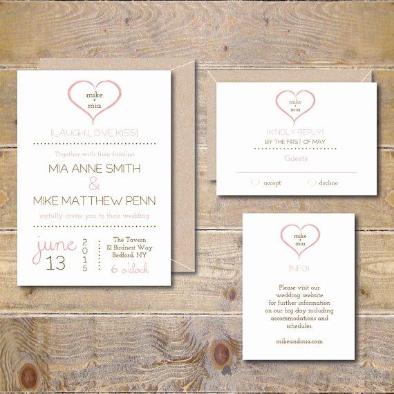 Modern Wedding Invitation Template Best Of Printable Wedding Invitations Wedding Invitation