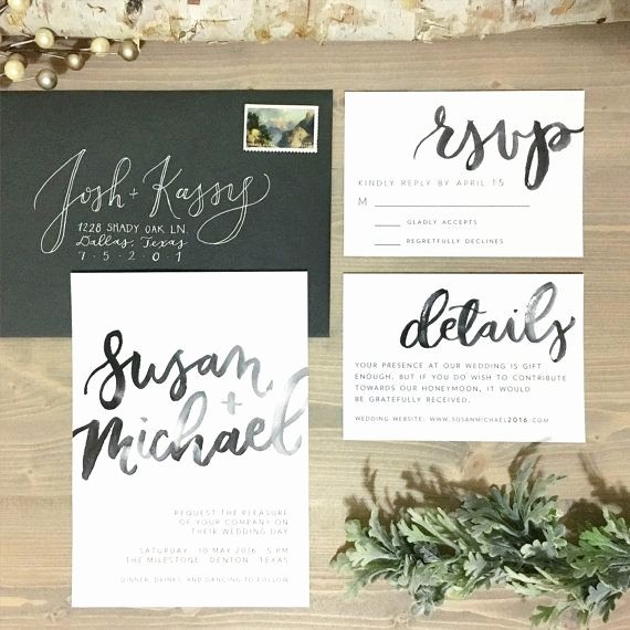 Modern Wedding Invitation Template Fresh Best 25 Watercolor Wedding Invitations Ideas On Pinterest