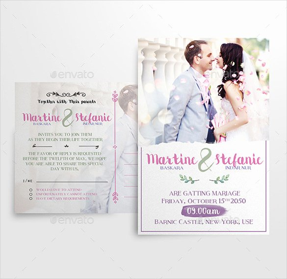 Modern Wedding Invitation Template New 27 Modern Wedding Invitation Templates Free Sample