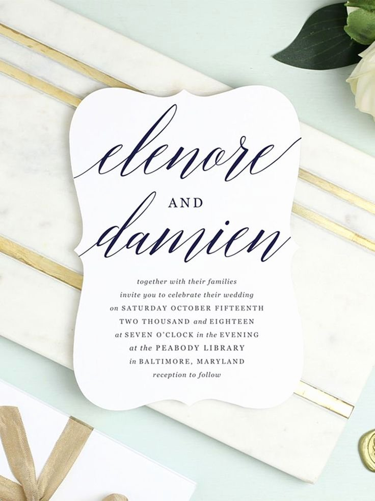 Modern Wedding Invitation Template New Best 25 Invitation Templates Ideas On Pinterest