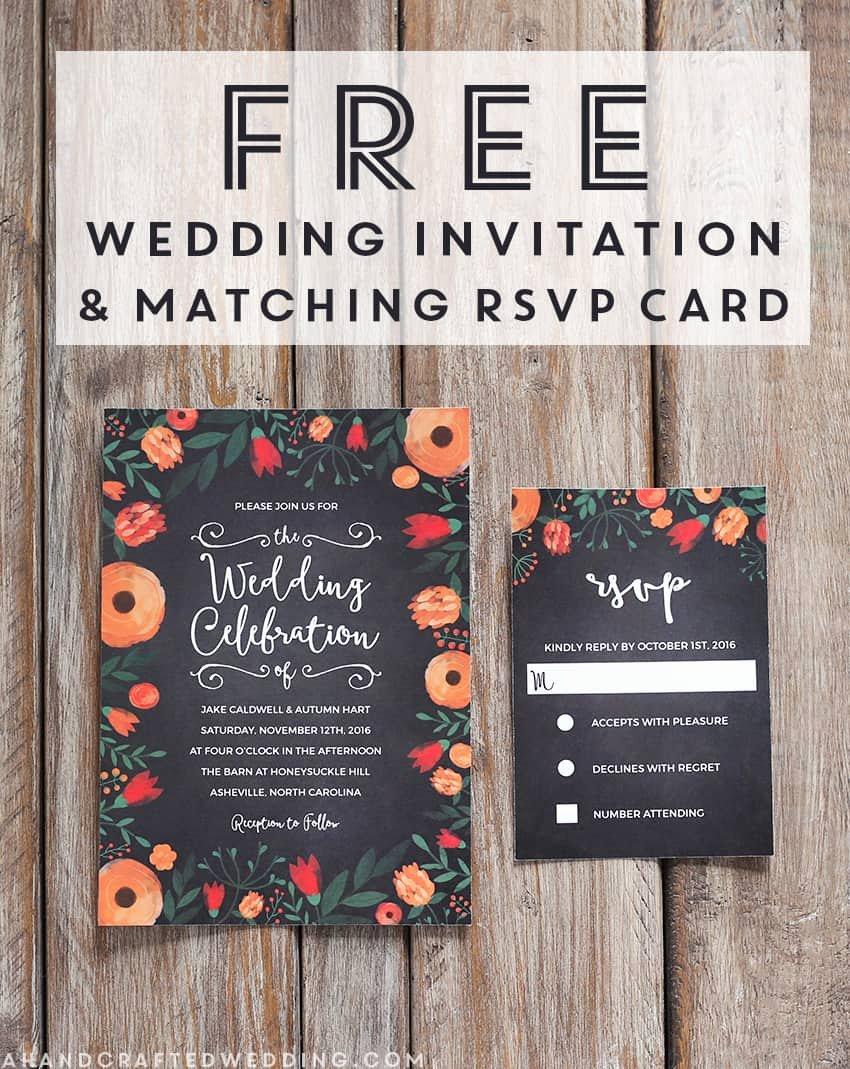 Modern Wedding Invitation Template Unique Free Whimsical Wedding Invitation Template