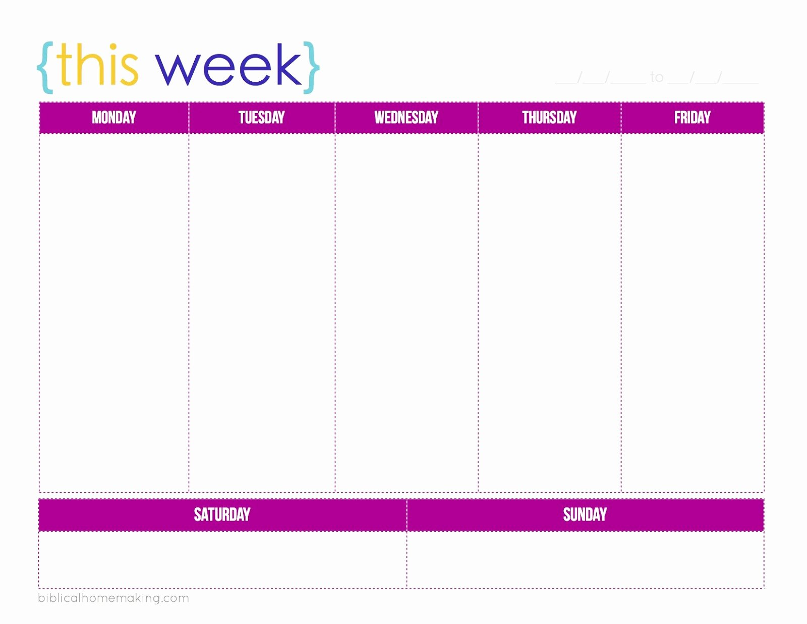Monday to Friday Schedule Template Luxury April Calendar 2016 Template Monday Friday