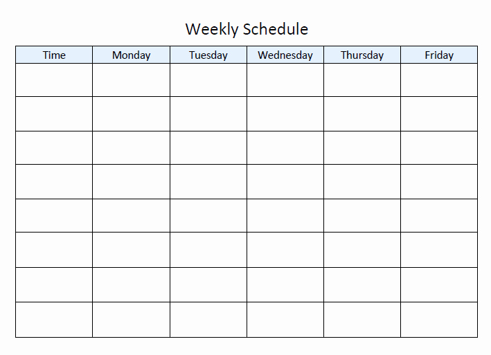 Monday to Friday Schedule Template Luxury Step by Step Guide to Planning Your Homeschool Year Tj