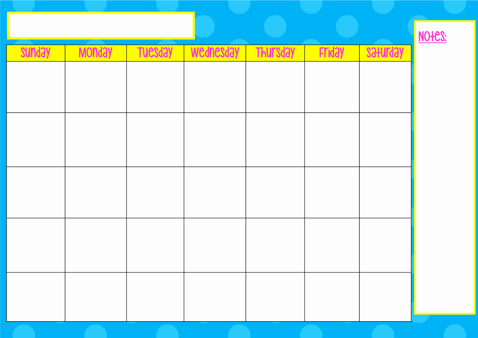 Monday to Friday Schedule Template Unique Printable Monday Through Friday Calendar Template