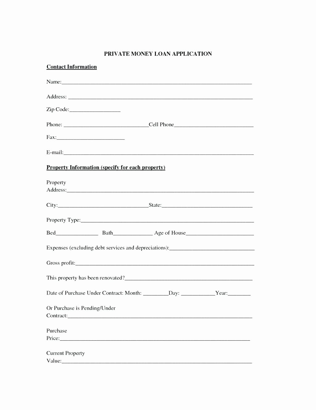 Money Loan Contract Template Best Of Template Money Agreement Template