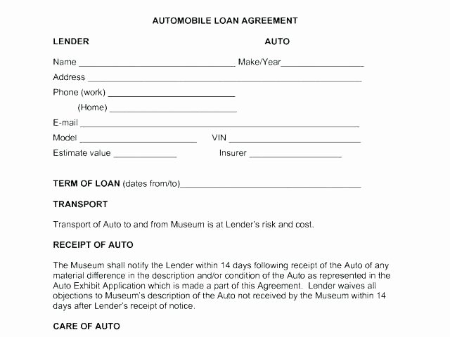 Money Loan Contract Template Free Luxury Loan Agreement Templates Samples Write Perfect Agreements