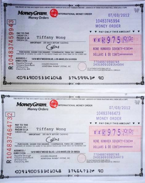 Money order Receipt Template Beautiful Moneygram Money order Scam to Pin On Pinterest
