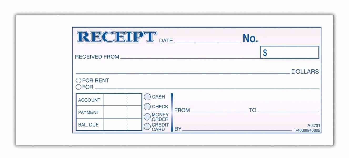 Money order Receipt Template Luxury Money order Template