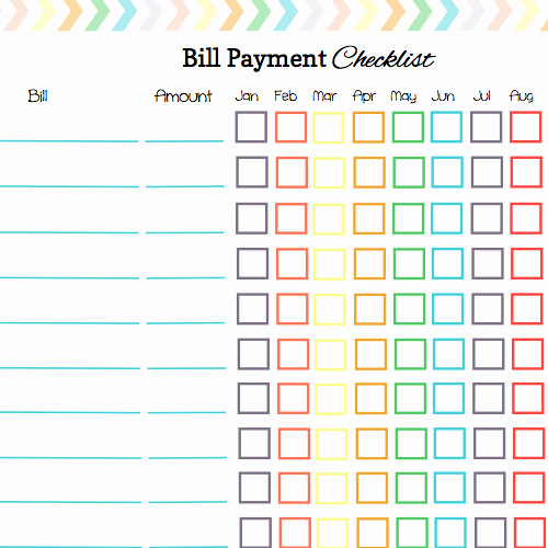 Monthly Bill Calendar Template Awesome Keep Your Bill Due Dates Straight with these Free Calendar