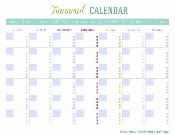 Monthly Bill Calendar Template Beautiful Bill Paying Calendar Template