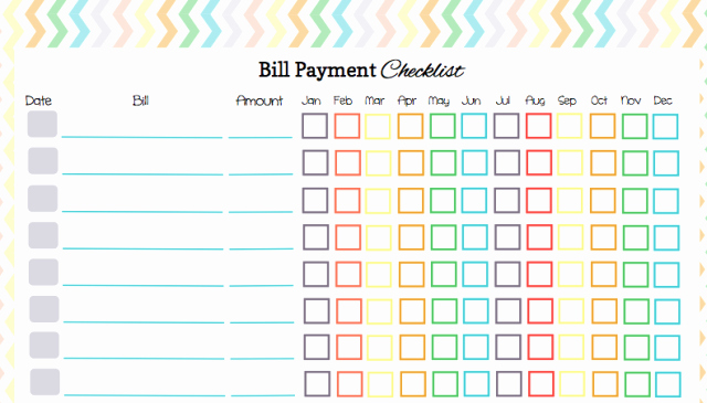 Monthly Bill Calendar Template Inspirational Keep Your Bill Due Dates Straight with these Free Calendar
