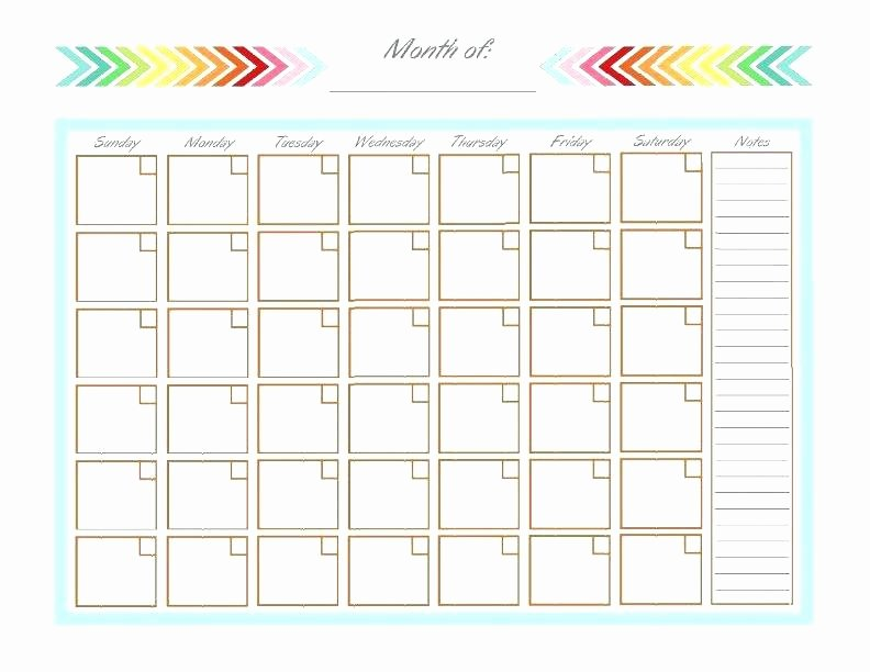 Monthly Bill Calendar Template New Bill Pay Calendar Template Equipped Finance L Blue E