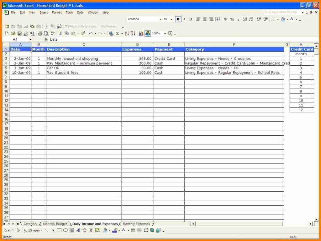 Monthly Budget Excel Spreadsheet Template Inspirational Monthly Expense Spreadsheet Template Monthly Spreadsheet