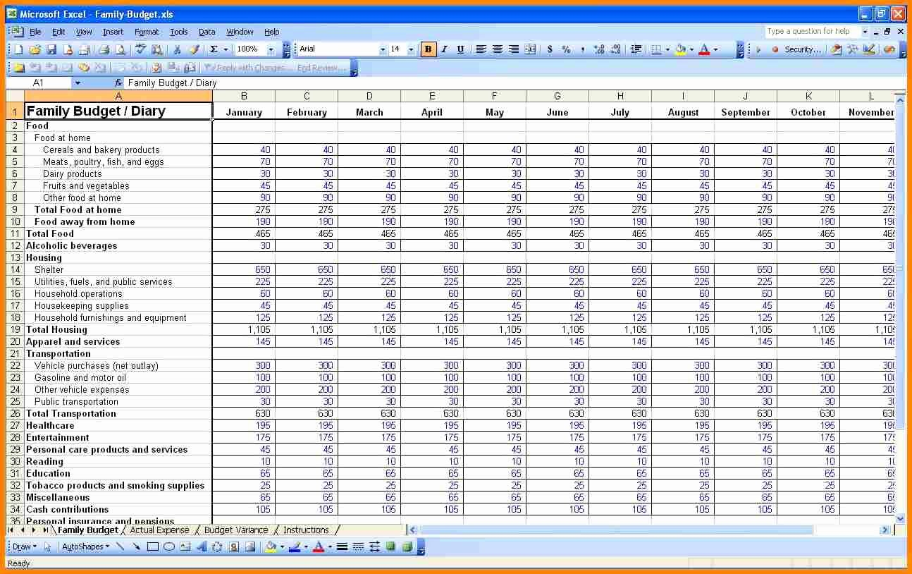 Monthly Budget Excel Spreadsheet Template Unique Monthly Bud Excel Spreadsheet Template