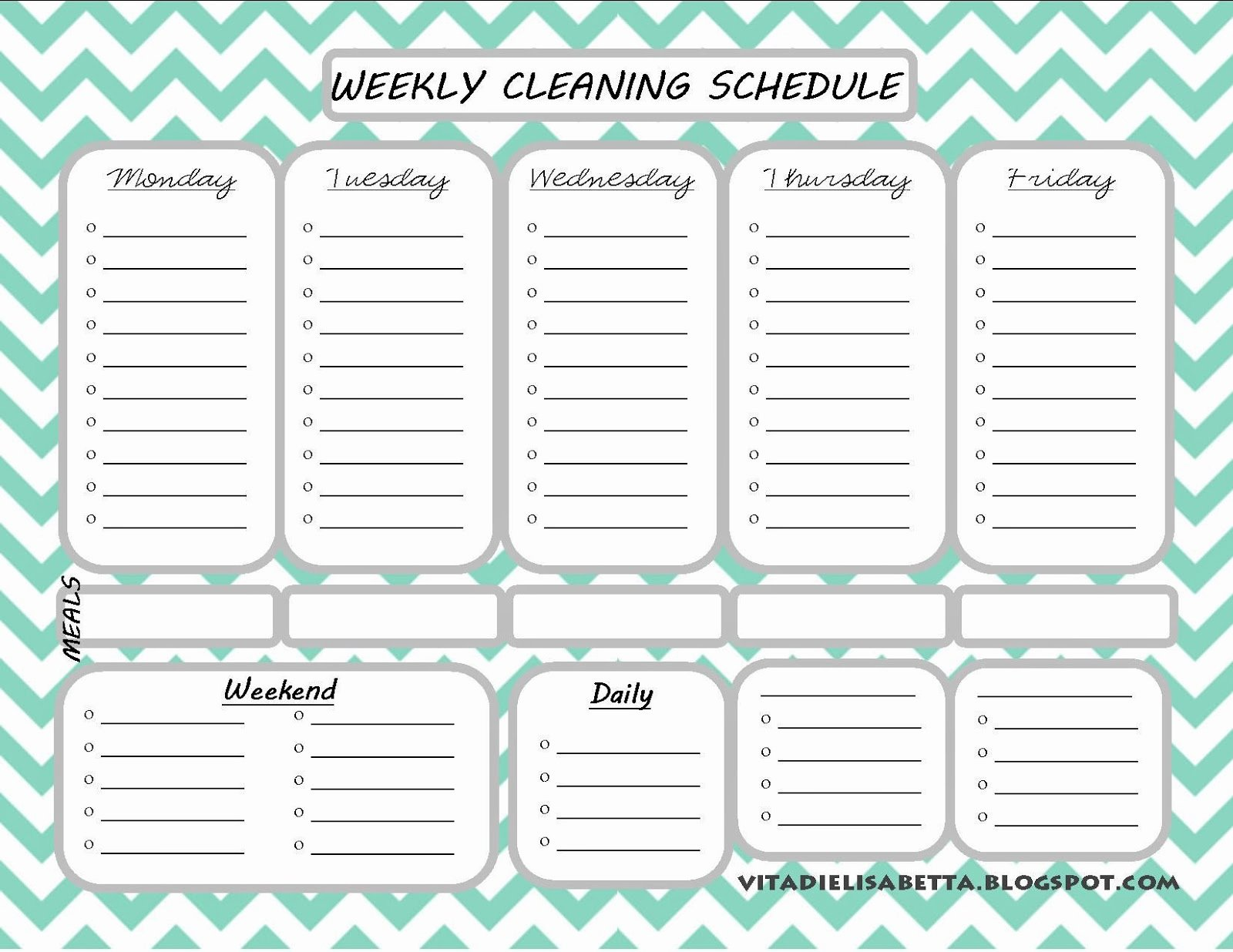 Monthly Cleaning Schedule Template Beautiful List Junkie Weekly Cleaning Schedule Free Printable