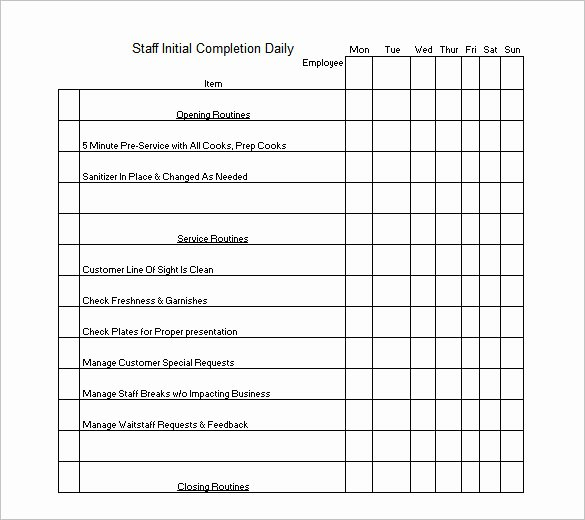 Monthly Cleaning Schedule Template Elegant Cleaning Schedule Template 12 Free Sample Example